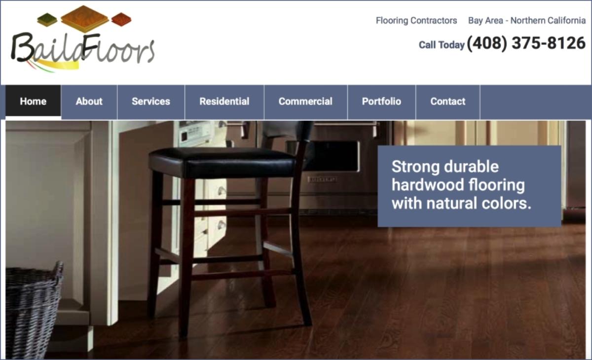 Flooring Contractor Websites