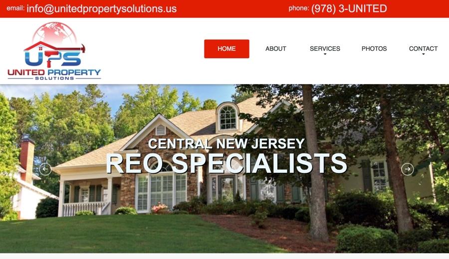 Home Improvement Contractor Website Design