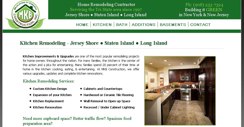 Home Remodeling Contractors Websites