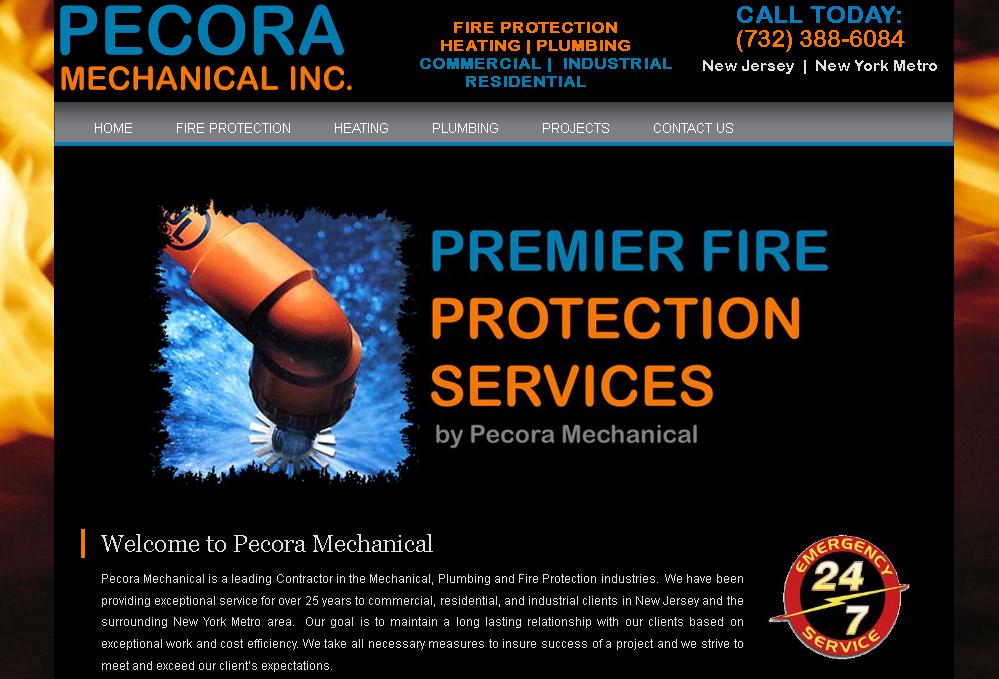 Mechanical Contractor Websites - New York